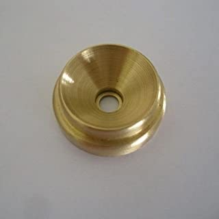 Grand Piano Lid Support Cup Solid Brass