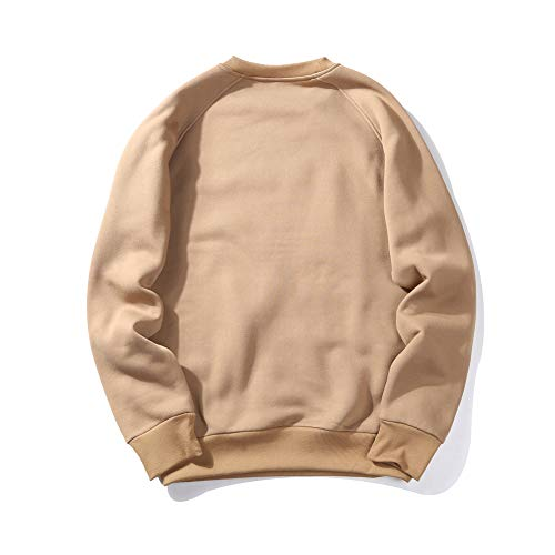 ZBHGF Hiphop Hooded trui herfst en winter trui trui mannelijke sport trui blanco trui effen kleur basic licht fleece trend losse versie mode