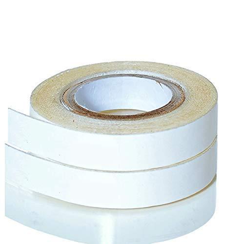 Klebeband Ersatztape für Tape Extensions   Neuste Klebekraft Formel   Doppelseitige Kleberolle Transparent - 2 Rollen