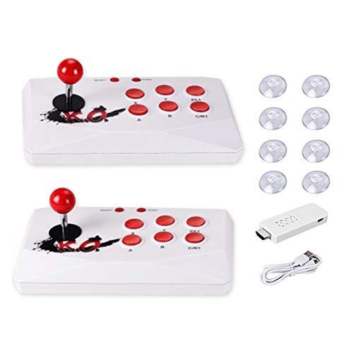 XOYZUU Consola de juegos de arcade,Retro HD juegos,con dos joysticks separados soporta multijugadores,Doble batalla inalámbrica de alta definición HDMI salida clásica Arcade