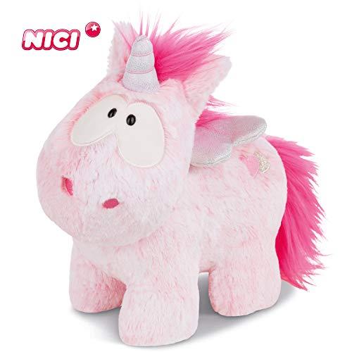 NICI Kuscheltier Einhorn Pink Harmony 22 cm – Einhorn Plüschtier für Jungen, Mädchen & Babys – Flauschiges Stofftier zum Kuscheln & Spielen – Flauschiges Schmusetier für jedes Alter geeignet – 44364