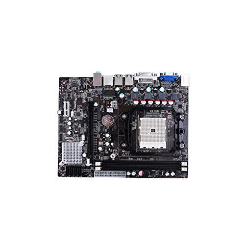 La placa base ordenador AMD A55 FM1 DDR3 soporta series