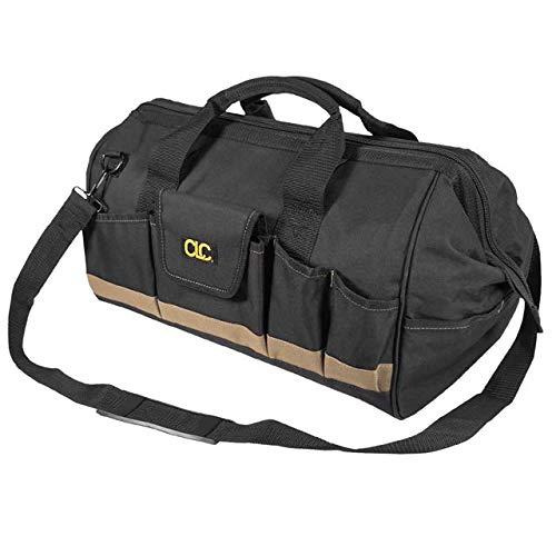 CLC BigMouth Werkzeugtasche groß, 1001163, Werkzeugtasche mit extra großer Öffnung und 25 Einstecktaschen