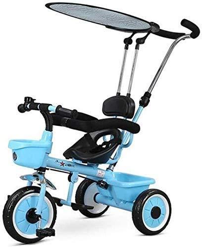 JINHH driewieler, Baby kinderwagen Veelzijdig 1-5 Jaar Oude Kinderwagen Wiel Fiets Familie Draagbaar 57x50x100cm