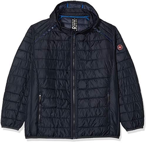 s.Oliver Big Size Herren 28.001.51.2524 Jacke, Navy, XXXX-Large (Herstellergröße: 4XL)