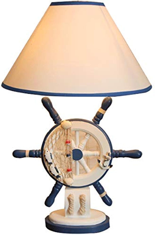 ZYHOO Tischlampe-Im Mediterranen Stil Ruder Ruder Ruder Hölzerne Tischlampe,D B07JLTSDT7 | Haltbar  1bb948