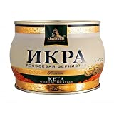 Keta (Chum) salmon caviar rojo Premium 500 gr.