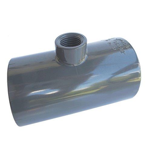 alfa-pool T-Stück 90° PVC 1/2