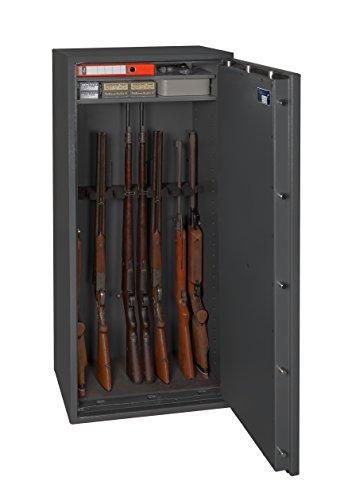 Waffenschrank Waffentresor Gun Safe N 1-10 ELO (1548x648x418mm) Klasse N/0, 10 Waffenhalter - Zahlenschloss