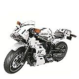 El Maquetas Coche Motocross Fantastico MOC City Racing Motocicleta 716 Piezas De Alta Tecnología DIY Modelo Creador Bloques Construcción Juguetes Educativos Para Regalo Niños Regalos Juegos Mas Vendid