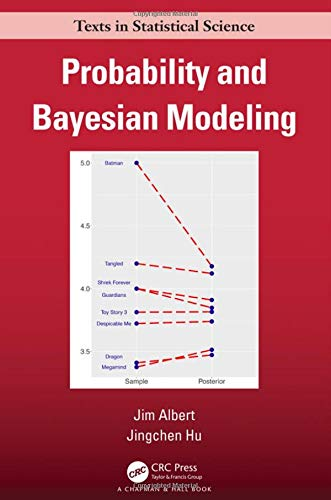 Probability and Bayesian Modeling Front Cover