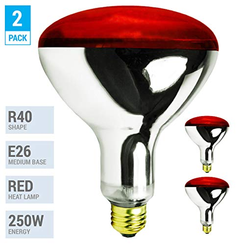Incandescent Red Head Lamp