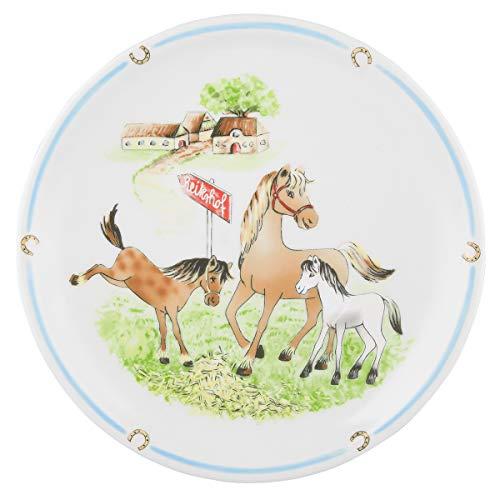 Seltmann Weiden 001.716558 Compact Mein Pony Speiseteller Rund, Bunt