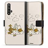 DeinDesign Étui Compatible avec Huawei Honor 20 Étui Folio Étui magnétique Winnie l'ourson...