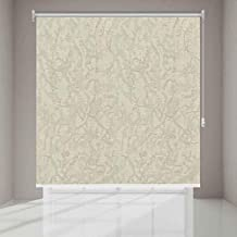 Polyester Solid Pattern, Beige - Roller Curtains