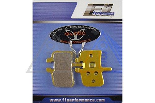 1 paire métallique Promax à disque hydraulique fritté plaquettes de frein VTT DH XC DC 600–900