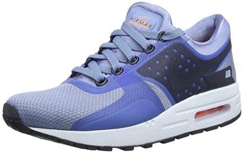 Nike Kinder Laufschuhe AIR MAX ZERO ESSENTIAL GS,Mehrfarbig (Arbeitsblau/Armory Marine blau-Blau Tin), 36.5 EU, 4 UK