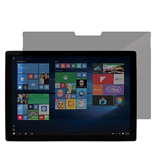 Incipio displaybeschermfolie voor Microsoft Surface Pro 4 [4-weg privacy tegen zijdelingse inkijk| kunststof frame voor eenvoudig aanbrengen | helder zicht | bescherming tegen krassen] - CL-524-P