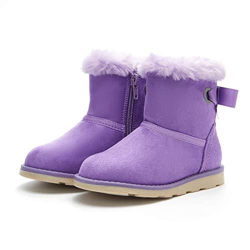 Kamik Waterbug5 Snow Boot, Purple, 12 M US Little Kid