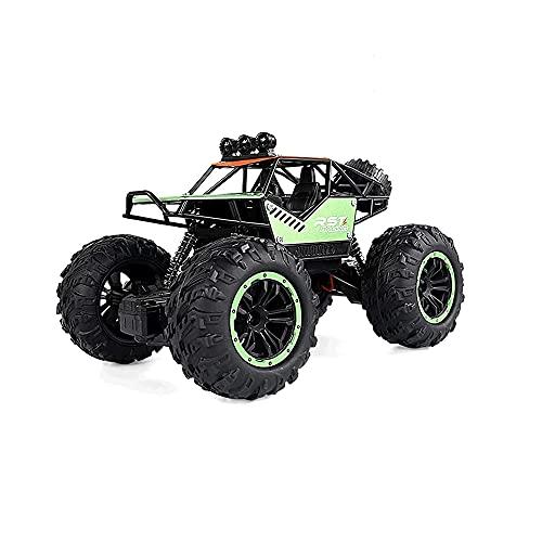 ZHRENXN Coche De Control Remoto De Aleación Todoterreno 4WD Escalada RC Buggy con Luz LED 2.4GHz Eléctrico Modelo Potente Coche De Juguete Niños Adultos Regalo De Cumpleaños