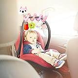 Gidenfly - Juguetes colgantes de actividad en espiral para bebé,...