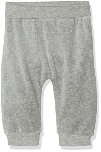 NAME IT Nbntemoon Vel Pant Noos Pantalones Deportivos, Gris (Grey Melange), 68 para Bebés
