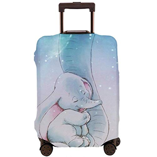 IUBBKI Suitcase Protector Cute Dumbo Stretch Elastic Travel Luggage Protector - Multiple Sizes