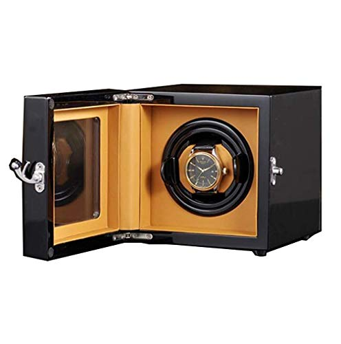 WXDP Automatischer Uhrenbeweger,Einzeluhrenwickler mit importierten Motoren, außergewöhnlich einfach zu bedienen, 100% handgefertigtes Display
