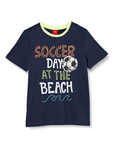 s.Oliver Junior Jungen 404.10.005.12.130.2038793 T-Shirt, 5798 Dark Blue, 116-122