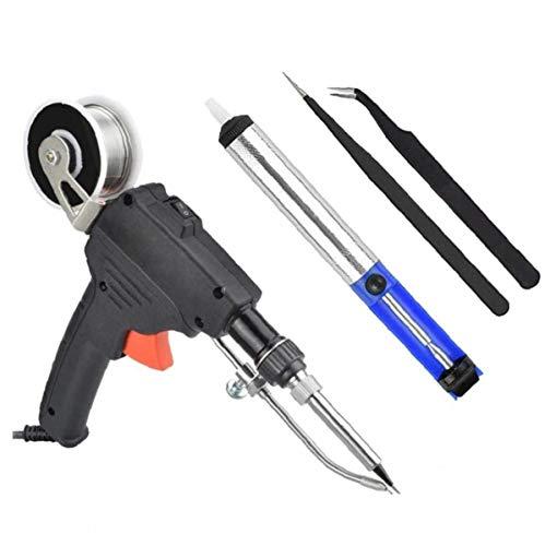 OMMO LEBEINDR Löten Tool Kit Zinn Lötkolben Kit Mit 2 Pinzetten Lötdraht Für Heim DIY Electronic Repair