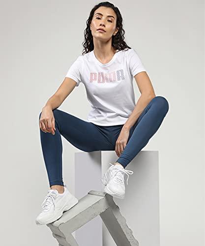 PUMA Cilia, Zapatillas Mujer, White-Gray Violet-Silver, 39 EU