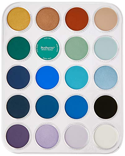 PanPastel Seascape Painting Set with Joanne Barby 20 Colors + Palette &...