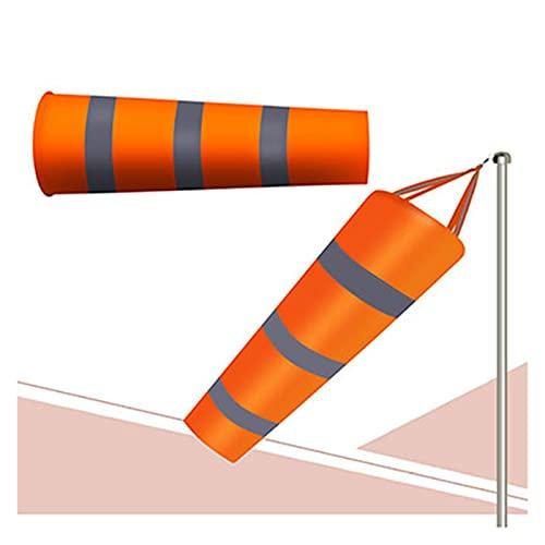 QPLKL Windspiele 80/100 / 150cm Reflektierende Windsocke im Freien Kratzfeste Winddichte Fluoreszierende reflektierende Windsocke Weathervane Heimtextilien (Color : 1M)