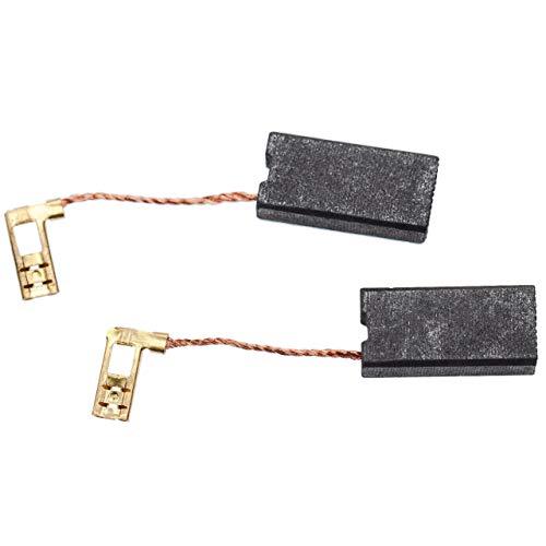 vhbw 2x spazzola di carbone per motore 7 x 12,5 x 26mm compatibile con Hilti TE 60-ATC, TE 60-AVR, TE 70, TE 70-ATC trapano a percussione