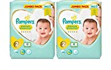 Pampers New Baby Lot géant de 2 x 68 couches Taille 2
