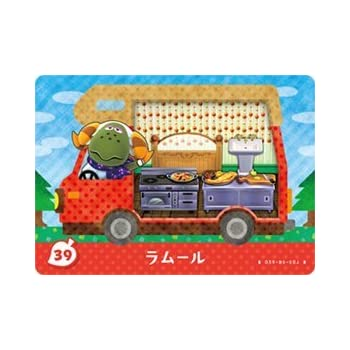 とびだせどうぶつの森 amiibo+ カード ラムール 39
