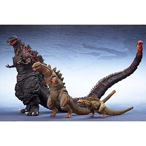Godzilla Rompecabezas de pequeño a Grande 300/500/1000/1500 Piezas ( Size : 500 Pieces )