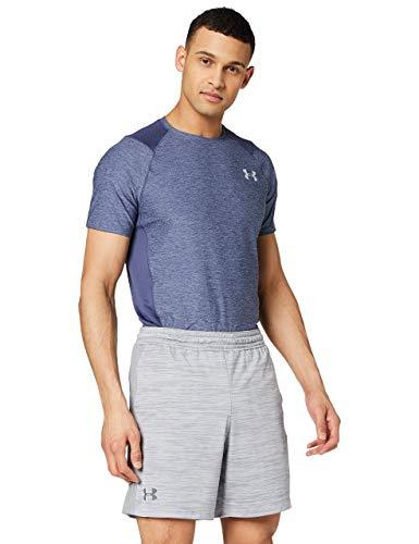 Under Armour MK-1 Twist Pantalones Cortos, Hombre, (Steel/Graphite), L