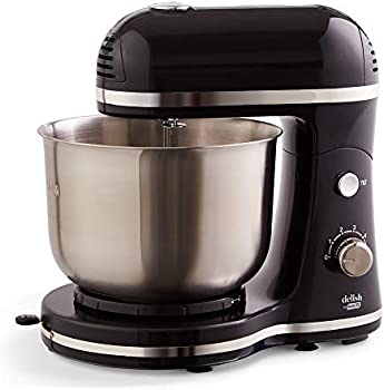 Dash Delish Compact Stand Mixer 3.5 Quart With Beaters & Dough Hooks