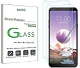 RKINC Screen Protector for LG Stylo 4, Tempered Glass Screen Protector[0.3mm, 2.5D][Bubble-Free][9H Hardness][Easy Installation][HD Clear] forLG Stylo 4(2 Pack)