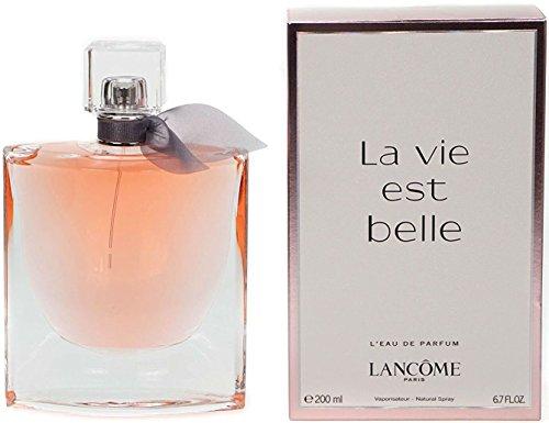 Lancome La Vie est Belle Eau 200ml - eau de parfum (Mujeres, Blackberry, Pera, Lirio, Jasminum sambac, Orange blossom absolute, Patchouli, Non-refillable bottle)