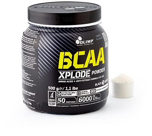 Olimp BCAA Xplode Powder, Zitrone, 500 g