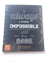 Staples Arc System Poly Covers, Assorted Quotes, 9-3/8 Inch x 11-1/4 Inch [並行輸入品]
