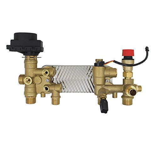 Intercambiador de calor de placas intercambiador de calderas intercambiador 10 placas Máximo 20KW