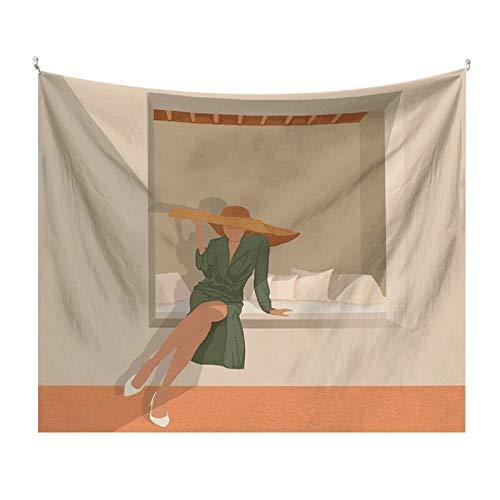 KHKJ Tapiz Colgante de Pared Manta rectángulo Tela de Fondo para decoración del hogar habitación decoración de la Pared del Dormitorio artículos para el hogar A15 230 * 180 cm