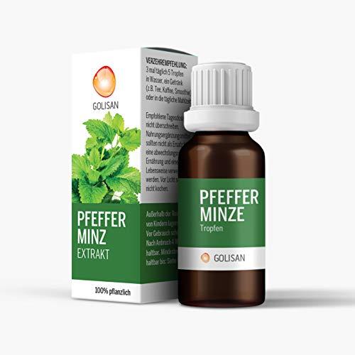 GOLISAN Premium Pfefferminze Extrakt Tropfen - hochdosiert - Tropfen 15ml