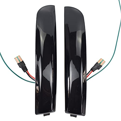 RelaxToday 2 Luces LED dinámicas de señal de Giro, indicador de Espejo retrovisor, repetidor Intermitente, para Ford Focus 3 MK3 2012-2018 SE/ST/RS Solo versión de América del Norte