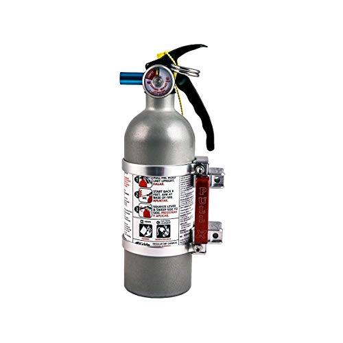 Axia Alloys Quick-Release Mount with 2lb Kidde Extinguisher (Silver)
