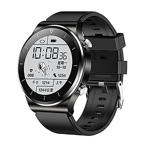 ZGZYL TM01 Smart Watch Call Bluetooth, Rastreador De Actividades con Presión Arterial Y Monitor De Ritmo Cardíaco IP68 Reloj Deportivo A Prueba De Agua para iOS Android Smart Watch,B