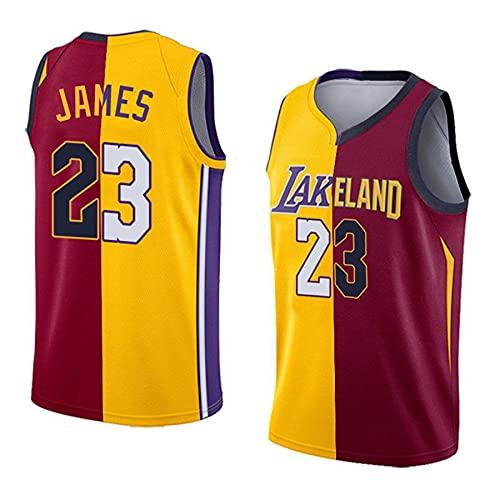 MMWW NBA Jersey Cavaliers Lakers James Jersey Fan Commemorative Edition,Multi Colored,XL
